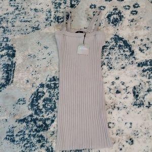 NWT Missguided square neck mini dress